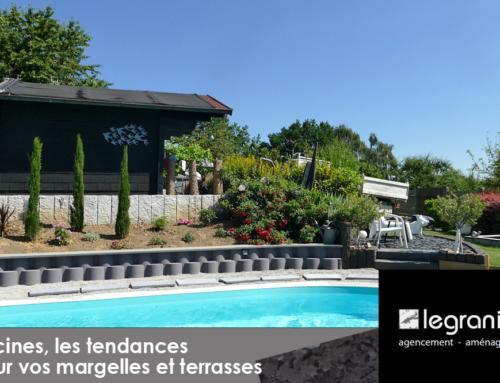 Piscines, les tendances pour vos margelles et terrasses ☀️⛱