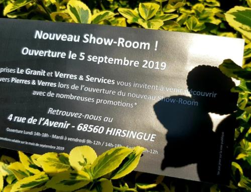 Nouveau Show-Room à Hirsingue !