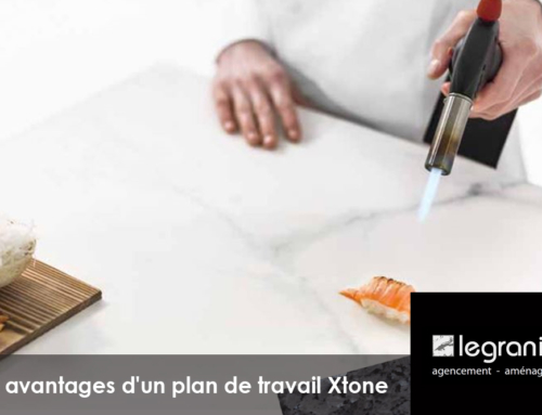 Les avantages d'un plan de travail Xtone