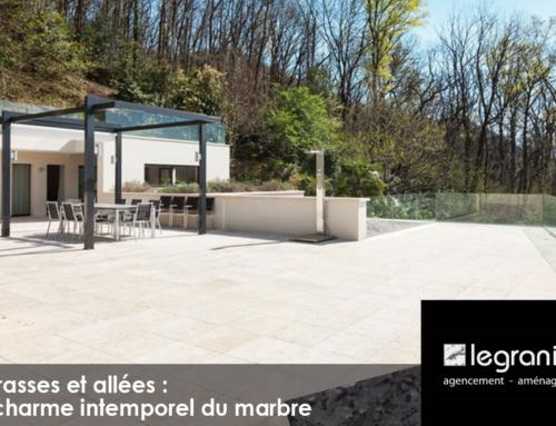 Terrasses et allées, le charme intemporel du marbre