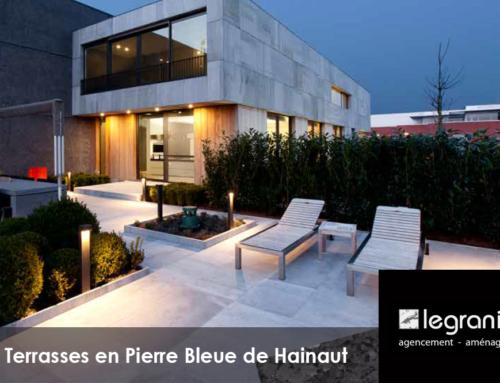 Les Terrasses en Pierre Bleue de Hainaut