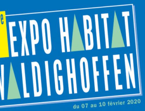 Retrouvez-nous au salon Expo Habitat de Waldighoffen du 7 au 10 février !